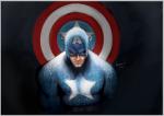 Capitão América Por Nick Symeou