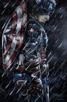 Capitão América Por Ralph Cifra