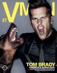 Tom Brady para VMAN