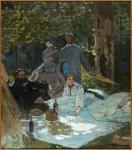 Monet - Le déjeuner sur l'herbe